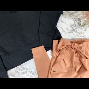 Woman Nike Capri with tie around waist size medium